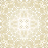 Bright wallpaper. With baroque ornaments Stock Photos