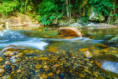 Bright water flowing. In east of Thailand Stock Photography