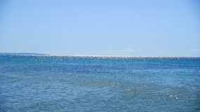 Bright water surface background Royalty Free Stock Photos