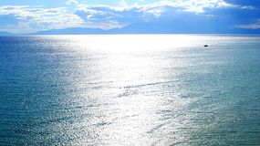 Bright water surface Stock Photo