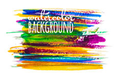 Bright watercolor background Royalty Free Stock Images