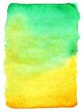 Bright watercolor paint gradient Stock Image
