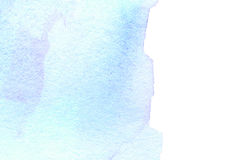 Bright watercolor stain with watercolour paint stroke. Waterc Royalty Free Stock Photo