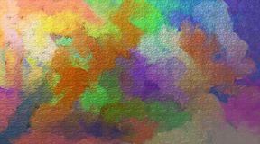 Bright watercolor stains Stock Image