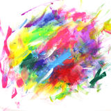 Bright watercolor stains royalty free stock image