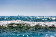 Bright wave Stock Photography