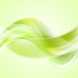 Bright waves background. Gradient mesh and blend Stock Photo