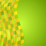 Bright wavy background Stock Images