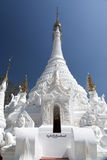 White Buddhist Temple Royalty Free Stock Photo