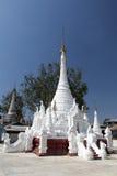 White Buddhist Temple Stock Image