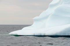 Bright white iceberg Stock Image