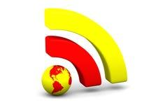 Bright WiFi symbol Stock Photo