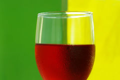 Bright wine Stock Image