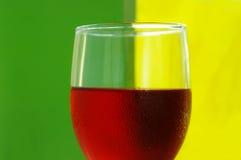 Bright wine stock image
