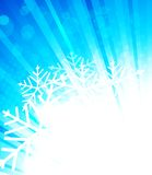 Bright winter background Stock Photo