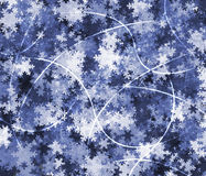 Bright  Winter  background Royalty Free Stock Images