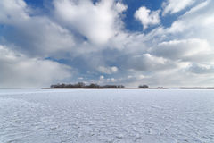 Bright winter landscape Royalty Free Stock Photo