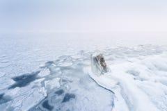 Bright winter landscape Stock Photography