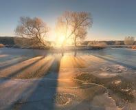 Free Bright Winter Sunlight. Sun Shine On Ice Patterns. Sunny Christm Stock Photography - 81669522