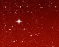 Bright wishing star Stock Photos