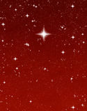 Bright wishing star Stock Photo
