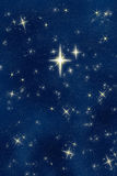 Bright wishing star night sky  Stock Photos