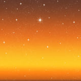 Bright wishing star night sky  Stock Photo