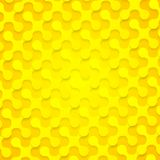 Bright yellow abstract shapes background texture Royalty Free Stock Photo