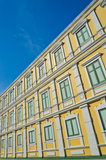 Bright yellow building Royalty Free Stock Photos