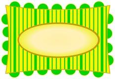 Bright Yellow & Citron Stripes Royalty Free Stock Image