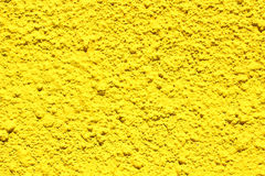 Bright yellow concrete wall Royalty Free Stock Photos