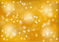 Bright yellow dot background. Bright yellow christmas background with dots Stock Images