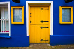 Yellow Door Royalty Free Stock Images