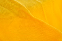 Bright Yellow Fabric Texture Stock Photos