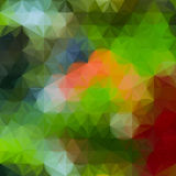 Bright yellow and green defocused background Royalty Free Stock Photo