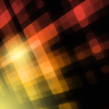 Bright yellow grid abstract background Stock Image