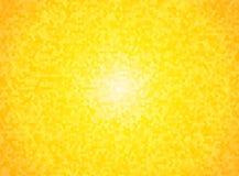 Bright yellow hexagon background Stock Photos