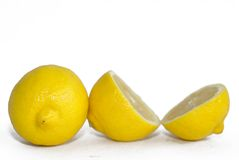 Bright yellow lemons Royalty Free Stock Photos