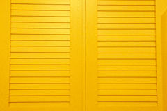 Bright Yellow Louvers Royalty Free Stock Photography