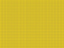 Bright Yellow notebook cage. Royalty Free Stock Photography