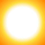 Bright yellow sun geometric background Royalty Free Stock Photo