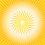Center Sun Sunrise Stock Images