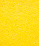 Bright yellow viscose cloth Stock Photography