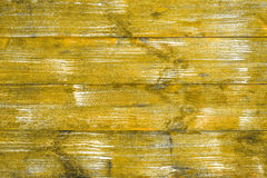 Bright yellow wooden boards with a texture for the background. Horizontal frame Stock Photo