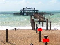 Brighten pier Royalty Free Stock Photo