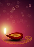 Brightful Diwali Стоковое Изображение