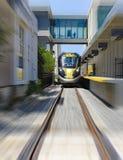 Brightline prędkości Wysoki pociąg Zdjęcia Stock