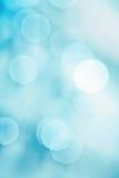 Brightly blue bokeh Stock Photos
