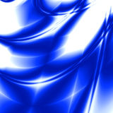Brightly blue rays Royalty Free Stock Images
