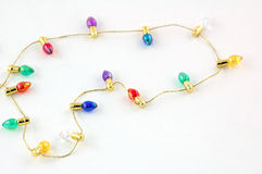 brightly bulbs colored tiny στοκ εικόνες με δικαίωμα ελεύθερης χρήσης